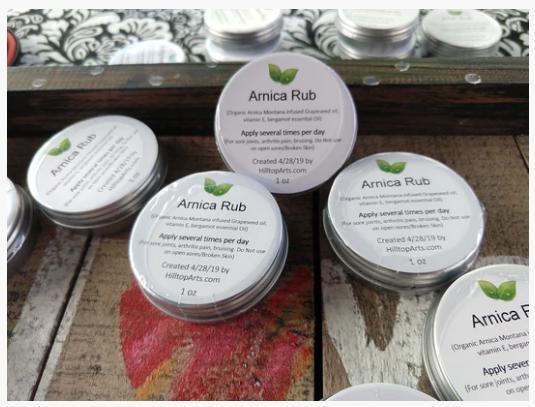Hilltop Herbals Arnica Rub